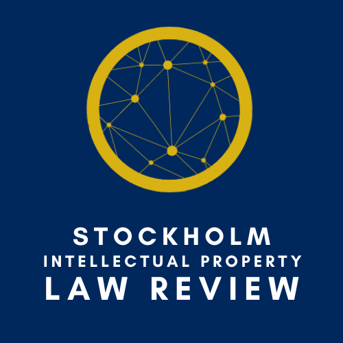Welcome to the Stockholm IP Law Review Logo